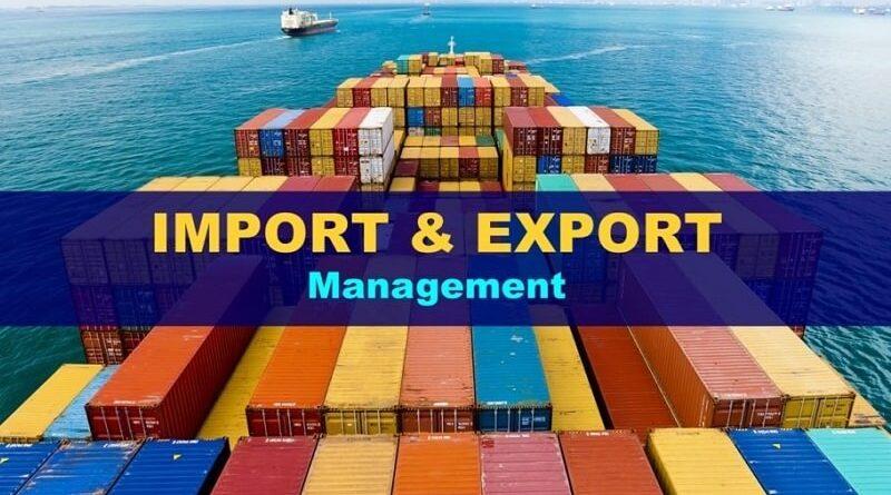 M.B.A (Export Management)